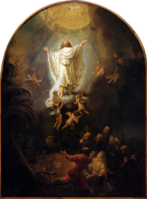 Rembrandt The Ascension 1636 Oil on canvas Alte Pinakothek Munich Germany.jpg